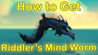 How to get Riddler's Mind-Worm Mount - STEP BY STEP GUIDE - SECRET MOUNT [WoW Legion Mount Guide]