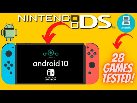 Nintendo DS on Switch Android 10 | Drastic Emulator Test (28 Games)