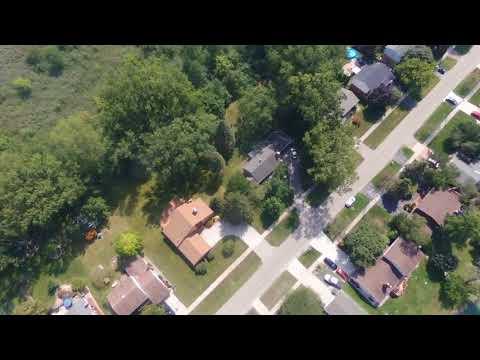 Flight Of The Parrot Bebop2 Troy Union Elementary School Sunday August 20, 2017