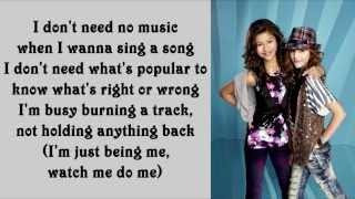 Download Bella Thorne ft. Zendaya Coleman - Watch Me (Lyrics On Screen) MP3 song and Music Video