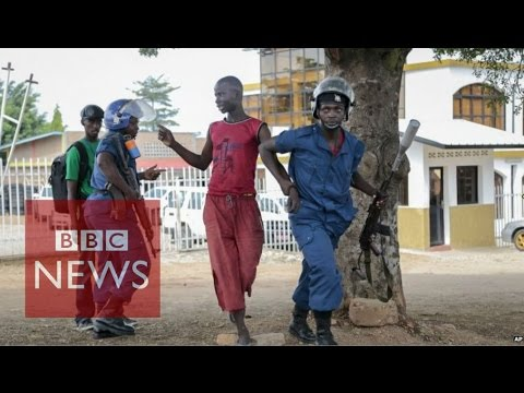 "Burundi Coup Attempt: General ""dismissing"" President Pierre Nkurunziza - BBC News"