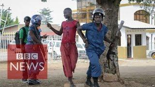 "Burundi Coup Attempt: General ""dismissing"" President Pierre Nkurunziza - BBC News"