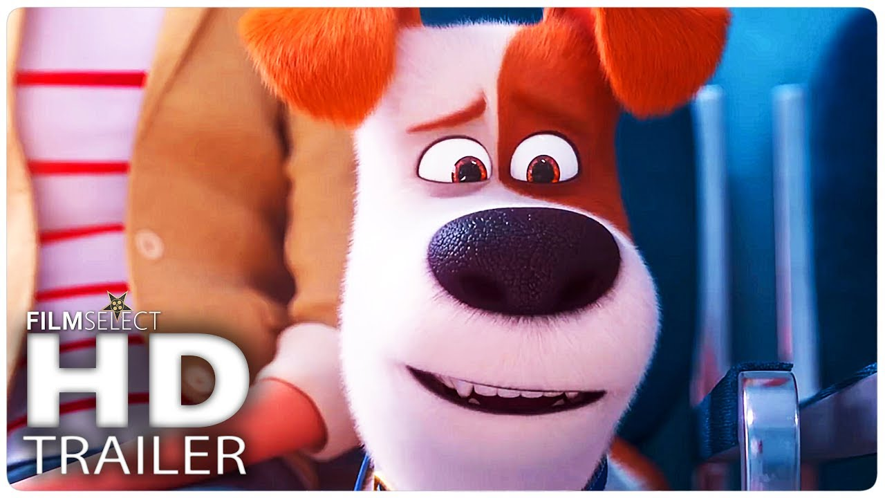 THE SECRET LIFE OF PETS 2 Trailer (2019)
