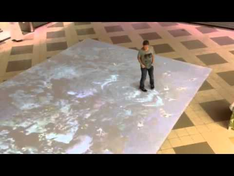 The Largest Interactive Floor System in the UAE