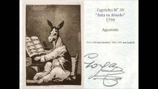 Las AGUATINTAS de Goya