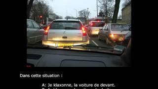 Examen du code de la route à Marseille
