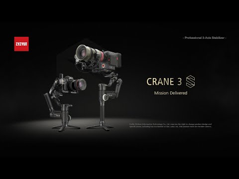 Introducing ZHIYUN CRANE 3S