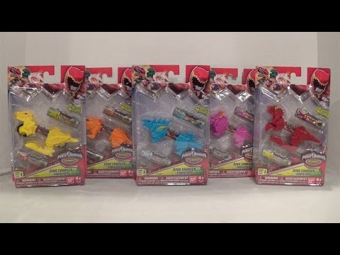 Dino Charger Power Packs Series 1 Wave 2 Review [Power Rangers Dino Charge]