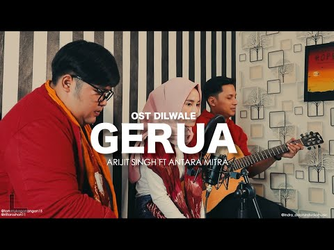 Gerua Arijit Singh Ft Antara Mitra Ost Dilwale Cover By Tommy Kaganangan Ft Rita Roshan From Indo