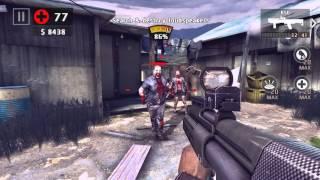 Dead Trigger 2. SPAS & KSG. Tech 10. Hard