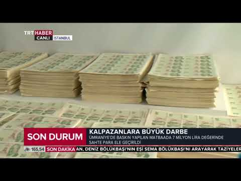 İstanbul'da kalpazanlara darbe