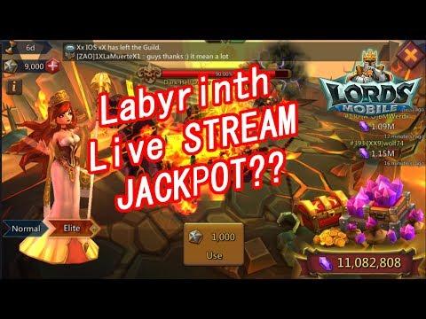 王國紀元 Lords Mobile - Live Labyrinth Elite Stream