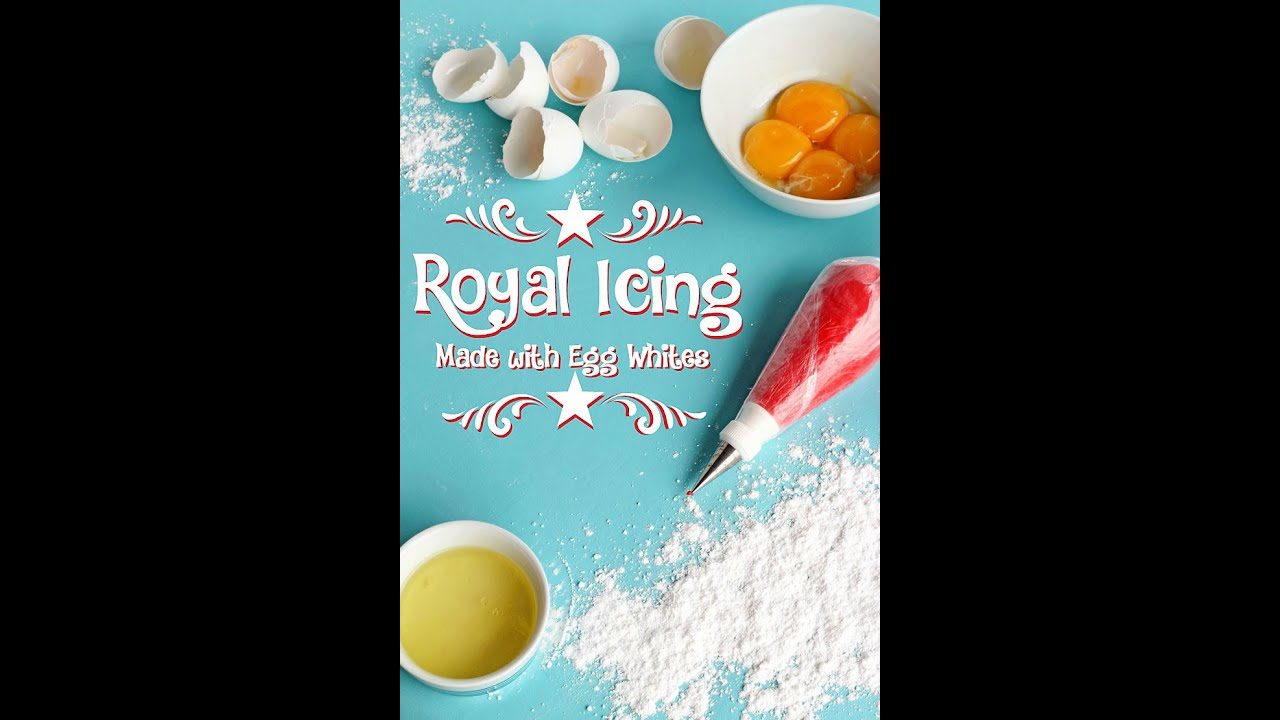Royal Icing Made With Egg Whites Via Www Thebearfootbaker