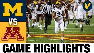 #18 Michigan vs #21 Minnesota Highlights | Week 8 2020 College Football Highlights