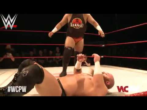 WWE ALLSTARS - WCPW Loaded 14 3 Rampage Vs Primate