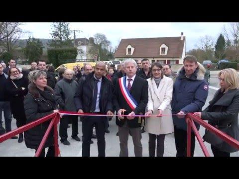 Condé en Brie  inauguration de la nouvelle boulangerie