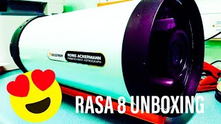 I feel the need for speed - Celestron RASA 8 Unboxing