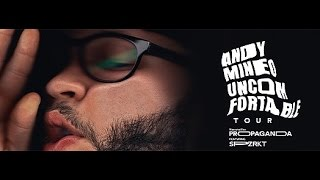 Andy Mineo Uncomfortable Tour 2015