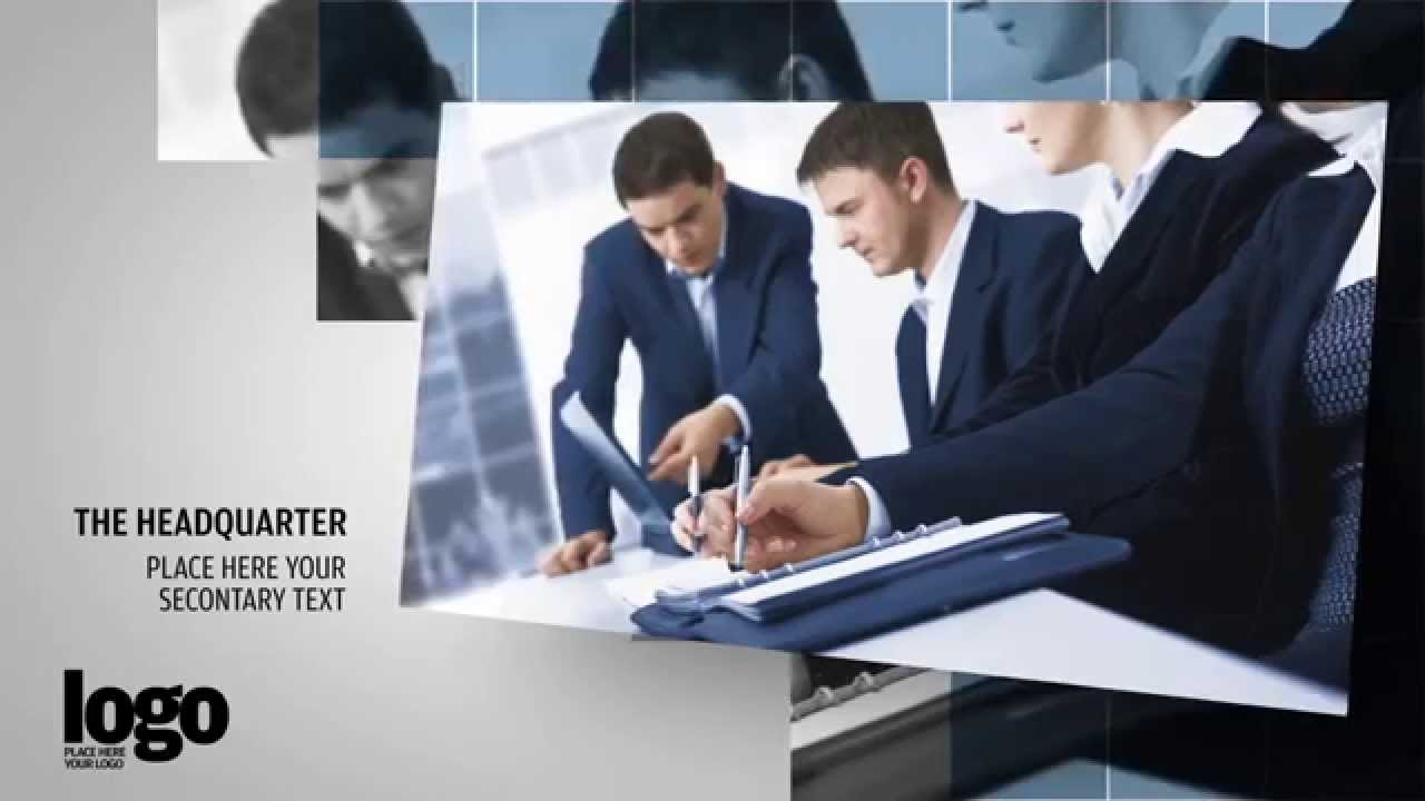 business / corporate video after effects template - youtube, Powerpoint templates