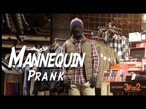 Mannequin Scare Prank in England