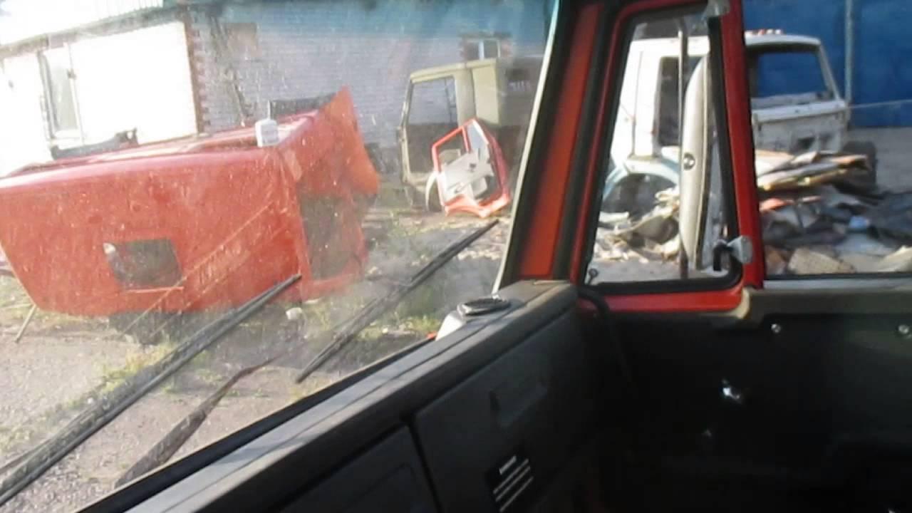 Бортовой автомобиль КАМАЗ-43502 с КМУ Fassi и сдвоенная кабина .