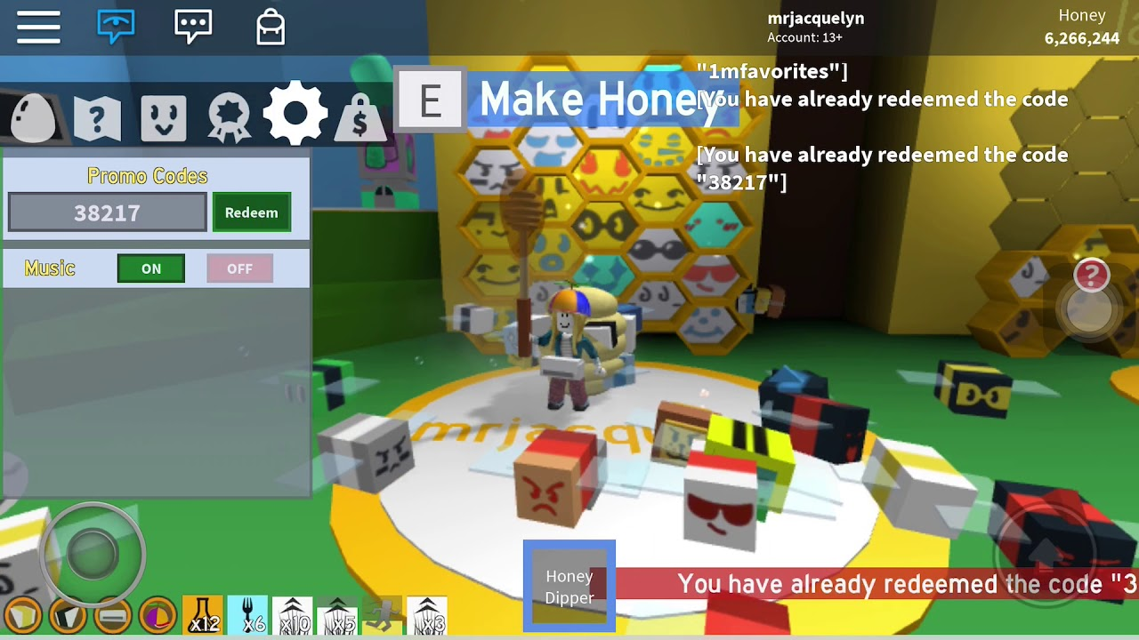 all code roblox bee swarm