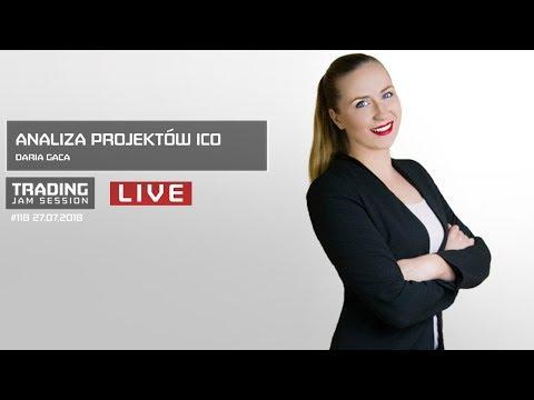 Analiza projektów ICO, Daria Gaca, #118 Trading Jam Session