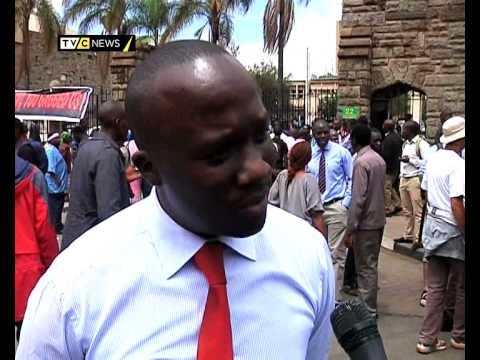 kenya Media Law: Journalists protest bill curtail Press Freedom