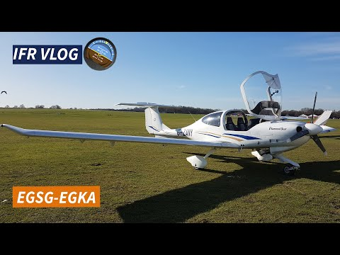 IFR to Shoreham (Brighton City Airport) | The Flying VLOG