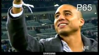 Tributo dello Juventus Stadium a David Trezeguet in Juventus-Roma - Trezeguet back with Juventus