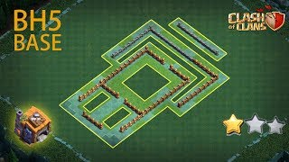 New Builder Hall 5 Base 2020 With Copy Link | BH5 Base COC | Anti Giant/Anti Troops | Clash of Clans