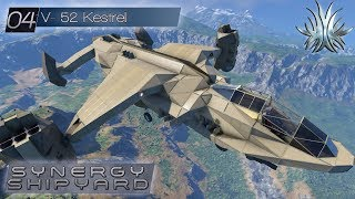 Space Engineers -  Synergy Shipyard: V-52 Kestrel