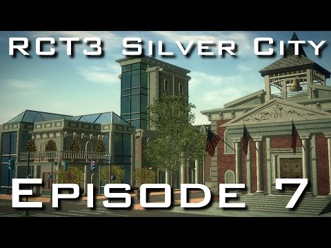 RCT3 Silver City - Episode 7 - Downtown Skyscrapers