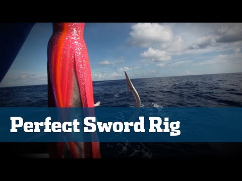 Rigging The Perfect Daytime Swordfish Bait Using Bonito - Florida Sport Fishing TV