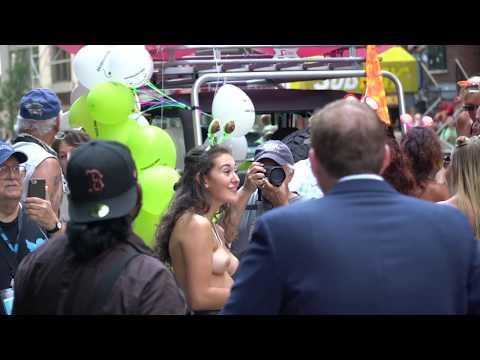 Topless Parade New York -- Part 2 -- Filmed Sunday August 26 2018