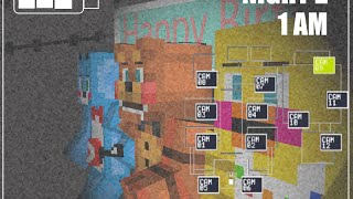 Minecraft Fnaf 2 render