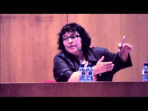 Presentació de Montserrat Casamitjana, Barcelona (11 de juliol 2014)