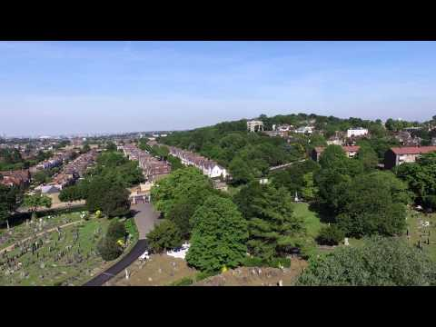 1 minute  DJI Phantom 3 video 4k Quality London from the Air UAs aka Drone