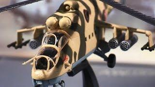 """Обзор модели вертолета Ми-24В """" DeAgostini """" масштаб 1:72 / Вертолеты России / Helicopter /"""