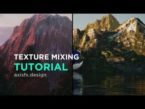 Mountain Texturing In Cinema 4D And Octane Render