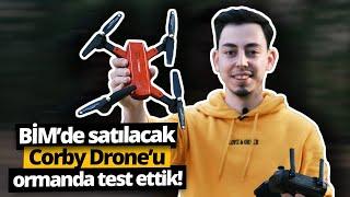 299 TL'ye BİM'de satılacak Corby Drone'u ormanda test ettik!
