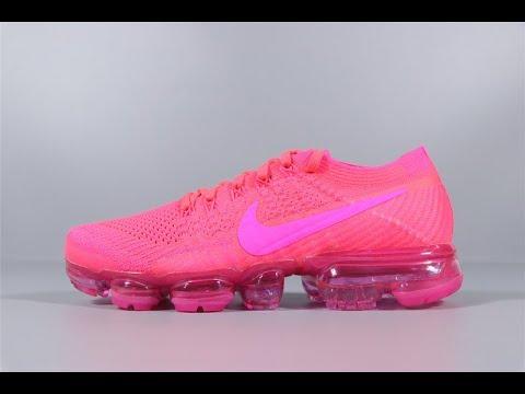 011c7f7b19a Nike Air Vapormax Flyknit Hyper Punch Pink Blast Women Running 849557-604  FROM Robert