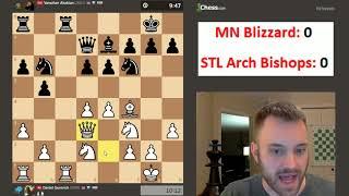 PRO Chess League Playoffs: MN Blizzard vs. STL Arch Bishops [Mar. 21, 2018]