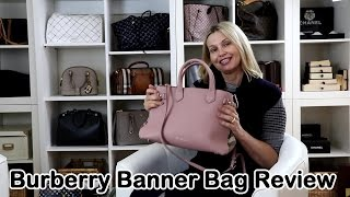 Burberry Banner Bag Review and Whats in my Bag