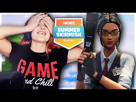INTENSE LATE GAME PRO BATTLES! SUMMER SKIRMISH w/ Ghost Bizzle (Fortnite: Battle Royale)