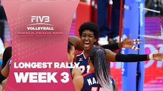 Simply sensational! The longest rally of Week 3!!