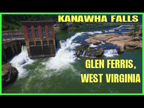 Kanawha Falls - Glen Ferris, WV - Drone Ohio