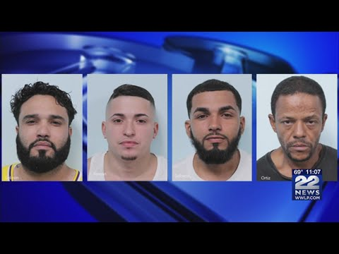 Police: Four men arrested, drugs and money seized in Springfield