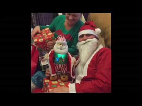 Extra – bloopers and funnies from the Christmas video