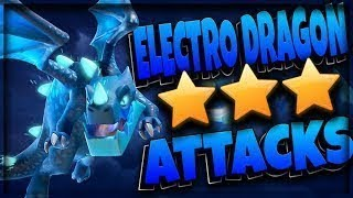 Th12 vs Th12 with elctro dregon attck ||Clash of Clans|| in hindi